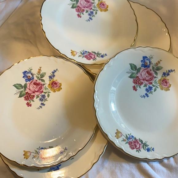 5 Scio Pottery HAZEL Floral Pattern
